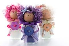 Χειροποίητες κούκλες Στοκ Εικόνα