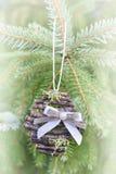 Χειροποίητη διακόσμηση Χριστουγέννων Στοκ Εικόνα