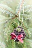 Χειροποίητη διακόσμηση Χριστουγέννων Στοκ φωτογραφία με δικαίωμα ελεύθερης χρήσης