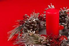 Χειροποίητη διακόσμηση Χριστουγέννων Στοκ εικόνες με δικαίωμα ελεύθερης χρήσης