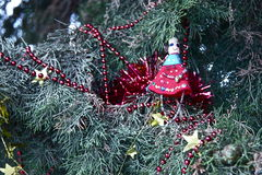 Χειροποίητη κούκλα Χριστουγέννων Στοκ Εικόνες