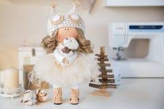 Χειροποίητη κούκλα Στοκ εικόνα με δικαίωμα ελεύθερης χρήσης