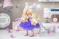 Χειροποίητη κούκλα Στοκ Φωτογραφία