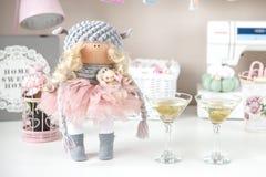 Χειροποίητη κούκλα Στοκ Εικόνες