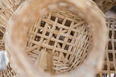 Χειροποίητη λυγαριά καλαθιών στοκ φωτογραφία με δικαίωμα ελεύθερης χρήσης