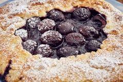 Χειροποίητη πίτα κερασιών Στοκ φωτογραφίες με δικαίωμα ελεύθερης χρήσης