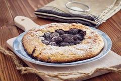 Χειροποίητη πίτα κερασιών Στοκ εικόνες με δικαίωμα ελεύθερης χρήσης