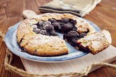 Χειροποίητη πίτα κερασιών Στοκ φωτογραφία με δικαίωμα ελεύθερης χρήσης