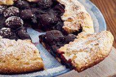 Χειροποίητη πίτα κερασιών Στοκ Φωτογραφίες