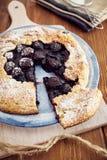 Χειροποίητη πίτα κερασιών Στοκ εικόνα με δικαίωμα ελεύθερης χρήσης