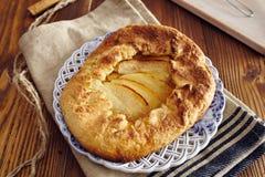 χειροποίητη πίτα μήλων Στοκ εικόνα με δικαίωμα ελεύθερης χρήσης