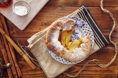 χειροποίητη πίτα μήλων Στοκ Φωτογραφίες