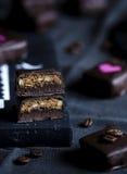 Χειροποίητη σοκολάτα πολυτέλειας Στοκ εικόνα με δικαίωμα ελεύθερης χρήσης