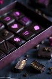 Χειροποίητη σοκολάτα πολυτέλειας Στοκ Εικόνα