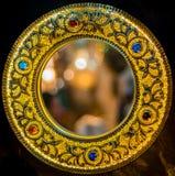 Χειροποίητος καθρέφτης χαλκού Στοκ Εικόνα