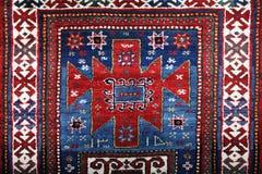 Χειροποίητος τάπητας Azerbajan Στοκ εικόνα με δικαίωμα ελεύθερης χρήσης