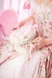 χειροποίητος τρύγος κοσμήματος κιβωτίων ομορφιάς στοκ φωτογραφίες με δικαίωμα ελεύθερης χρήσης