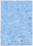 χειροποίητο έγγραφο skyblue Στοκ εικόνα με δικαίωμα ελεύθερης χρήσης