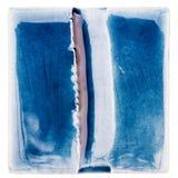 Χειροποίητο βερνικωμένο κεραμικό κεραμίδι Στοκ φωτογραφίες με δικαίωμα ελεύθερης χρήσης