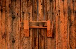 Χειροποίητο ξύλινο γραφείο Στοκ Φωτογραφία
