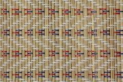 Χειροποίητο ξύλινο υπόβαθρο πετσετών μπαμπού Στοκ φωτογραφία με δικαίωμα ελεύθερης χρήσης