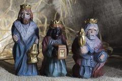 Χειροποίητο παχνί Χριστουγέννων Στοκ Εικόνες