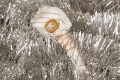Χειροποίητο παχνί Χριστουγέννων Στοκ εικόνα με δικαίωμα ελεύθερης χρήσης