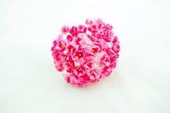 Χειροποίητο ρόδινο λουλούδι στοκ εικόνα με δικαίωμα ελεύθερης χρήσης