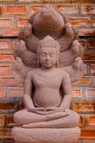 Χειροτεχνία Βούδας από τον ψαμμίτη στοκ φωτογραφία με δικαίωμα ελεύθερης χρήσης