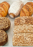 Χειροτεχνικά ψωμιά Στοκ εικόνα με δικαίωμα ελεύθερης χρήσης