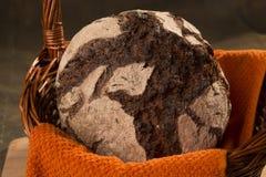 Χειροτεχνική σίκαλη ψωμιού στοκ φωτογραφία