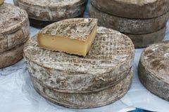 Χειροτεχνικό τυρί Στοκ Εικόνες