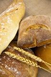 χειροτεχνικό ψωμί Στοκ Φωτογραφίες