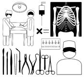 χειρουργική επέμβαση Στοκ Φωτογραφίες