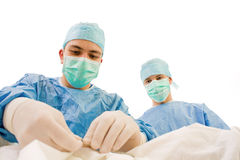 χειρούργοι λειτουργία& Στοκ φωτογραφία με δικαίωμα ελεύθερης χρήσης