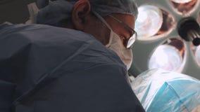Χειρούργος 12 γονάτων 12 απόθεμα βίντεο