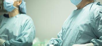 Χειρούργος στη χειρουργική επέμβαση νοσοκομείων Στοκ Φωτογραφίες