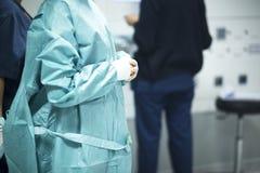Χειρούργος στη χειρουργική επέμβαση νοσοκομείων Στοκ Εικόνες