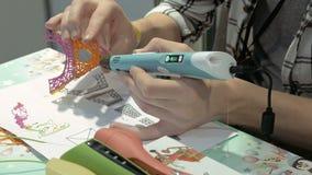 Χειρωνακτικός πλαστικός τρισδιάστατος εκτυπωτής φιλμ μικρού μήκους