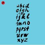 Χειρόγραφο καλλιγραφικό διανυσματικό αλφάβητο Στοκ φωτογραφίες με δικαίωμα ελεύθερης χρήσης