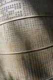 Χειρόγραφο κουδουνιών Στοκ εικόνα με δικαίωμα ελεύθερης χρήσης
