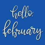 Χειρόγραφο όνομα του μήνα για το ημερολόγιο απεικόνιση αποθεμάτων