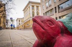 Χελώνα στις οδούς του Ελσίνκι στη Φινλανδία Στοκ Εικόνες