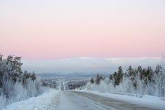 χερσόνησος κόλα Στοκ Φωτογραφίες