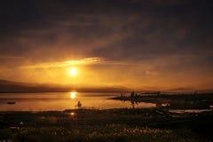 Χερσόνησος κόλα, Monchegorsk, Ρωσία στοκ εικόνες