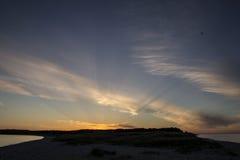 Χερσόνησος στο νησί νότιου Manitou Στοκ φωτογραφία με δικαίωμα ελεύθερης χρήσης
