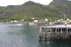 Χερσόνησος Lofoten, Νορβηγία Στοκ εικόνες με δικαίωμα ελεύθερης χρήσης