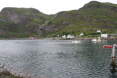 Χερσόνησος Lofoten, Νορβηγία Στοκ φωτογραφία με δικαίωμα ελεύθερης χρήσης
