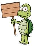 Χελώνα κινούμενων σχεδίων Στοκ εικόνες με δικαίωμα ελεύθερης χρήσης