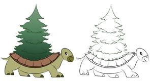 Χελώνα κινούμενων σχεδίων Στοκ Φωτογραφία